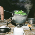 Day 5: Cooking Kale in Moab, UT. #campseason #snowpeak