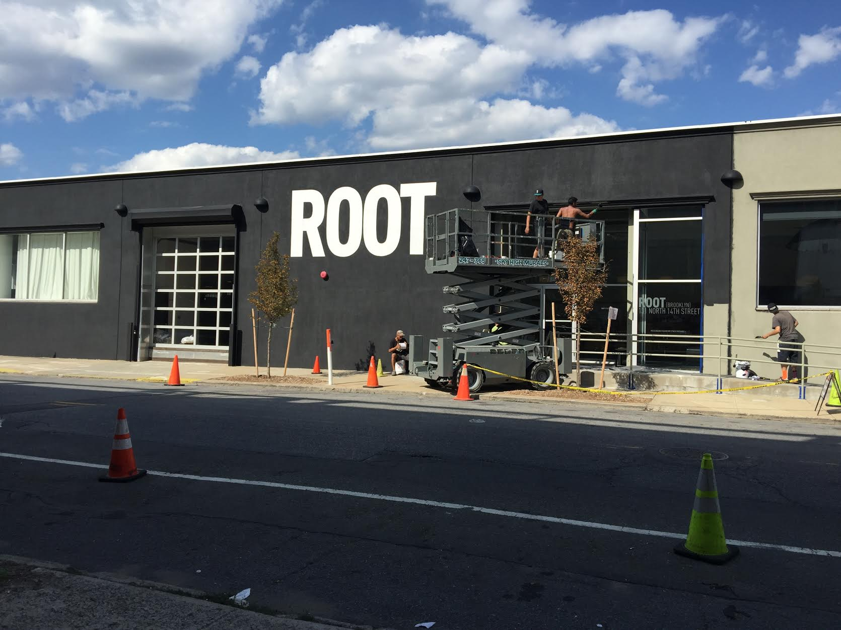 Big things at ROOT