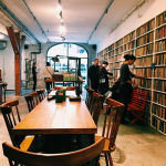 Escape the wind chill and spend a toasty afternoon inside the Brooklyn Art Library. It'll probably be dark out by the time you're done browsing through shelves of The Sketchbook Project collection. (103A North 3rd St. Brooklyn.)
