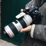 Myoungsoo uses a zoom lens to get up close and personal with his street style shots.