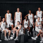Four retired (Katie Smith, Rebecca Lobo, Tina Thompson, and Teresa Weatherspoon) and eight current (Maya Moore, Elena Delle Donne, Tina Charles, Chiney Ogwumike, Brenna Stewart, Skylar Diggins, Sue Bird, and Tamika Catching) WNBA players