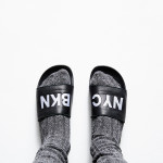 These custom slides from Adidas are the perfect gift for the athleisure enthusiast in your life...with an emphasis on leisure. Shown here with ROOT's very own 'NYC/BKN' edition.