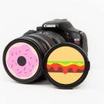 Protect your lenses from scratches and hunger pains with these fun, foodie-inspired lens caps.